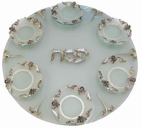 Quest-Freesia Seder Plate-Item#SDR18A