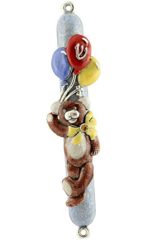 Quest-Mezuza-Teddy Bear with Balloons-Item#65B
