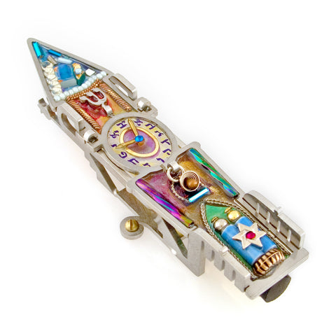 Seeka Clock Tower Mezuzah