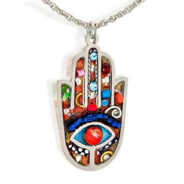 Seeka Hamsa Necklace #1432412M
