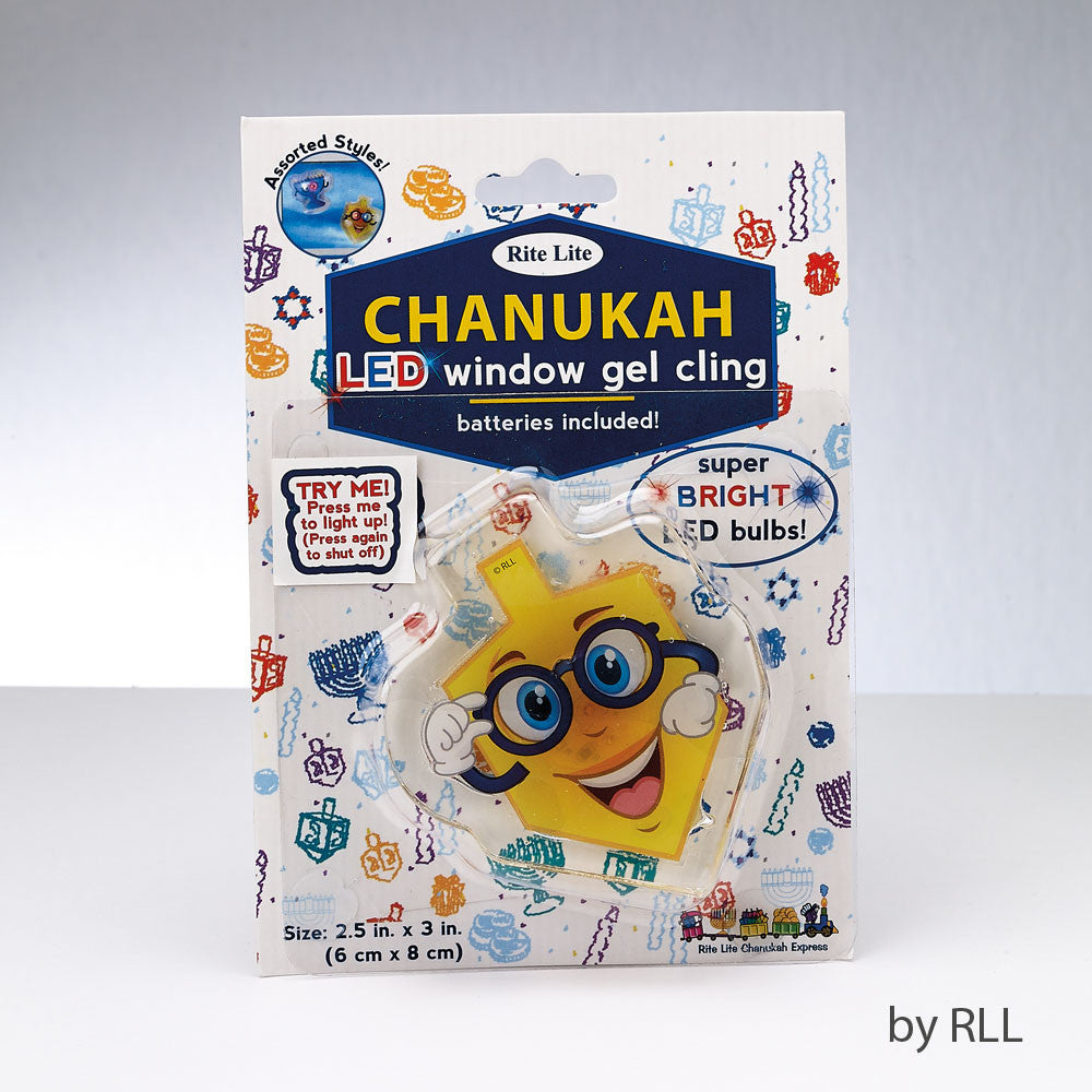 Chanukah Window Gel Cling