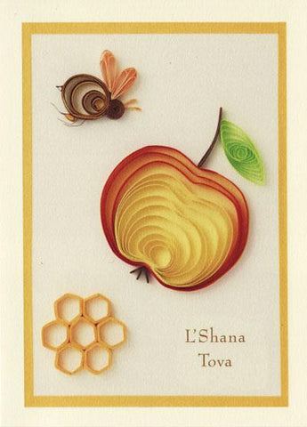 Apple and Honey New Year Cards