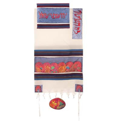 Emanuel Tallit-12 Tribes-Color-Item#TWS-8