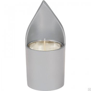 Emanuel Memorial Candle Holder-Silver Anodized Aluminum-Item#NNM-1