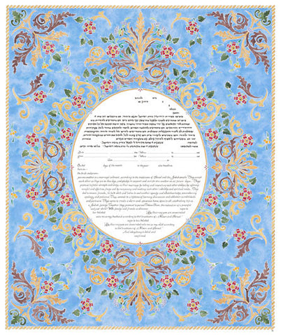 Amy Fagin Ketubah- Sweet Shelter