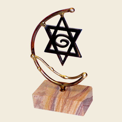 Gary Rosenthal Star of David Sculpture-Item#-STAR3