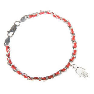 Red Bendel Bracelet-Hamsa-Item#Bendel15