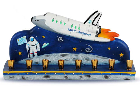 Outer Space Menorah