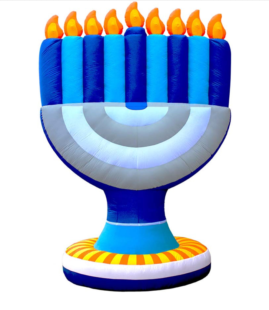 Giant (11 foot tall) inflatable Menorah