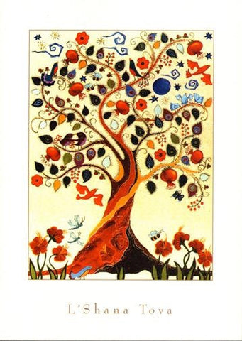 Tree of Life New Years Card