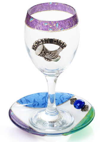 Lily Art- Miriam's Cup-purple & blue-Item#507787-15