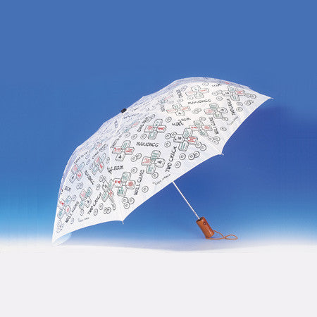 Mah Jongg Folding Umbrella-Item#322