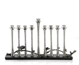 Michael Aram Black Orchid Menorah - Item# 110826