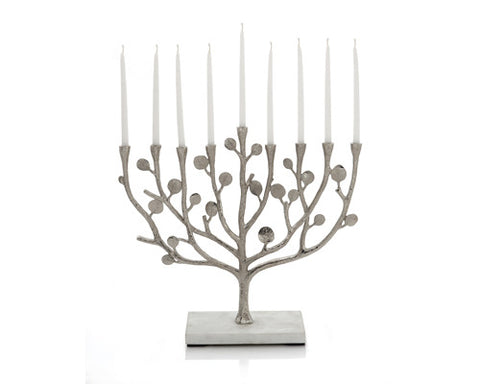 Michael Aram Botanical Leaf Menorah - Item# 112380