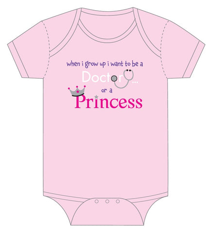 Onesie-Dr. or Princess?