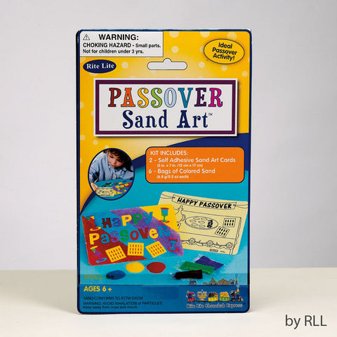 Passover Sand Art Kit-Item#TYKP-SAND