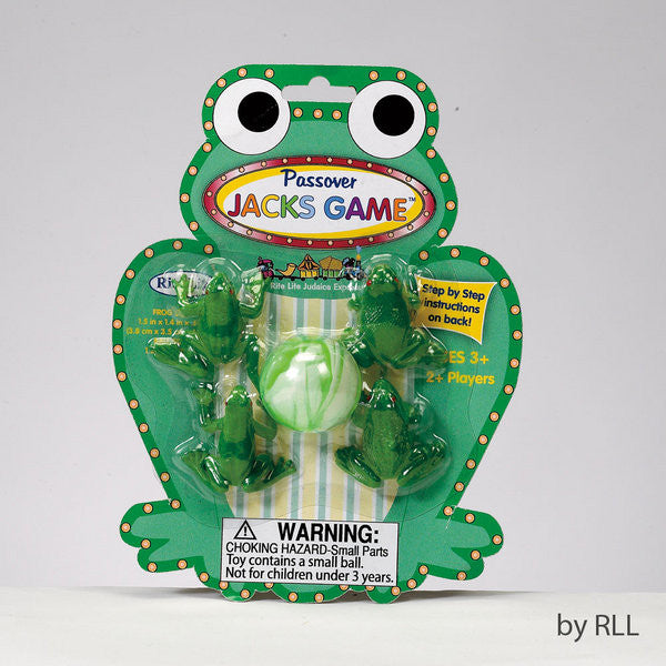 Passover-Frog Jacks Game-Item#TYPP-FROG-14