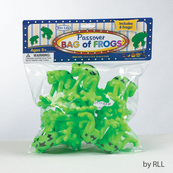 Passover Bag of Frogs-Item#TYPP-FROG-5