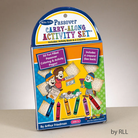 Passover Carry-Along Activity Set-TYKP-COLR-SET