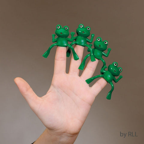 Passover Finger Frogs-Set of 4-Item#TYPP-FROG-9