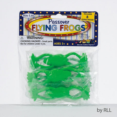 Passover Flying Frogs-8/Bag-Item#TYPP-FROG-10