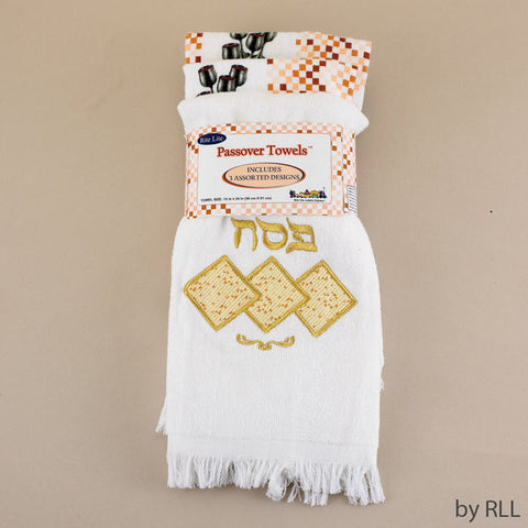 Passover Towels-Set of 3-Item#TXP-TWL-SET-2