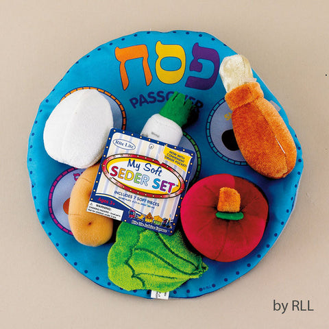 "Passover"" My Soft Seder Set"" in Reusable Pouch-Item#TYPS-1-N"