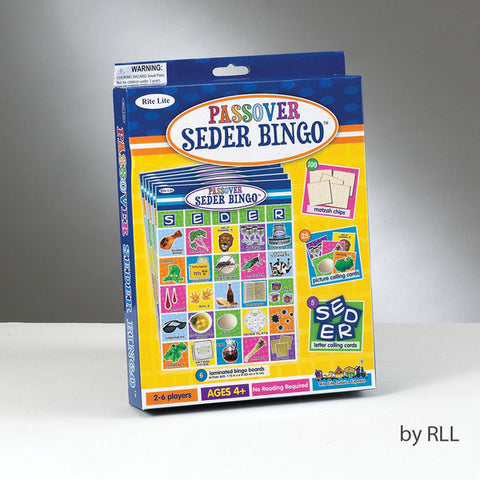 Passover Seder Bingo Game-Item#GAP-4