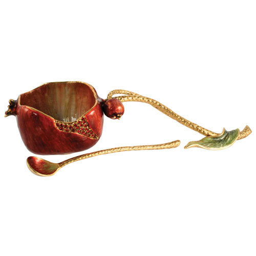 Quest-Pomegranate Honey Set w/Spoon-HN SET 11