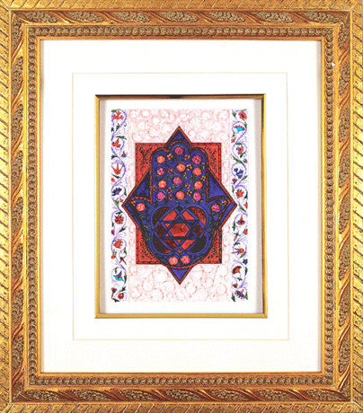 3D Art-Home Blessing-Hamsa-Item#SFP21