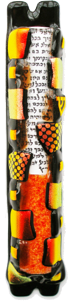 Sandi Katz Wedding Mezuzah-Item#SKW16