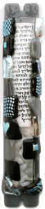 Sandi Katz Wedding Mezuzah-Item#SKW21