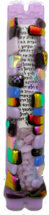 Sandi Katz Wedding Mezuzah-Item#SKW88