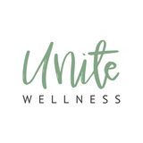Modern calligraphy logo for health and wellness brand