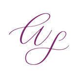 Modern calligraphy monogram for personal brand