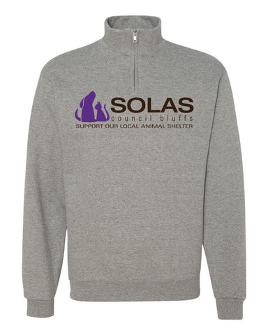 SOLAS - Quarter Zip Sweatshirt