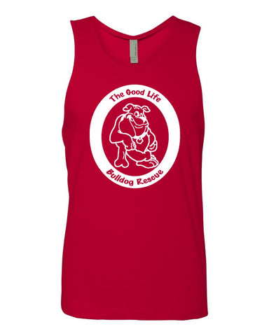 The Good Life Bulldog Rescue - Unisex Cotton Tank