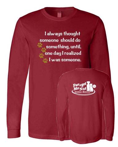 JFK Quote - FGMN Logo- Long Sleeve Tee