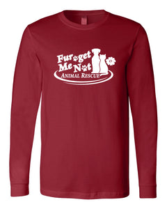 Fur Get Me Not Animal Rescue - Long Sleeve Tee