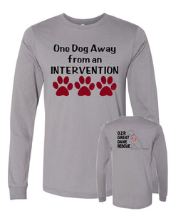 One Dog away - OZRGD Logo - Long Sleeve Tee