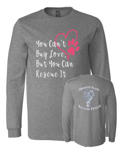You Can't Buy Love - TABR Logo - Long Sleeve Tee