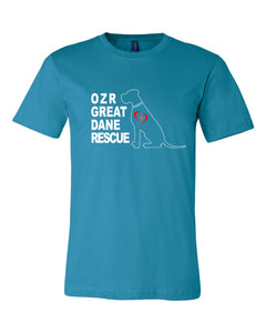 OZR Great Dane Rescue - Adult Tee