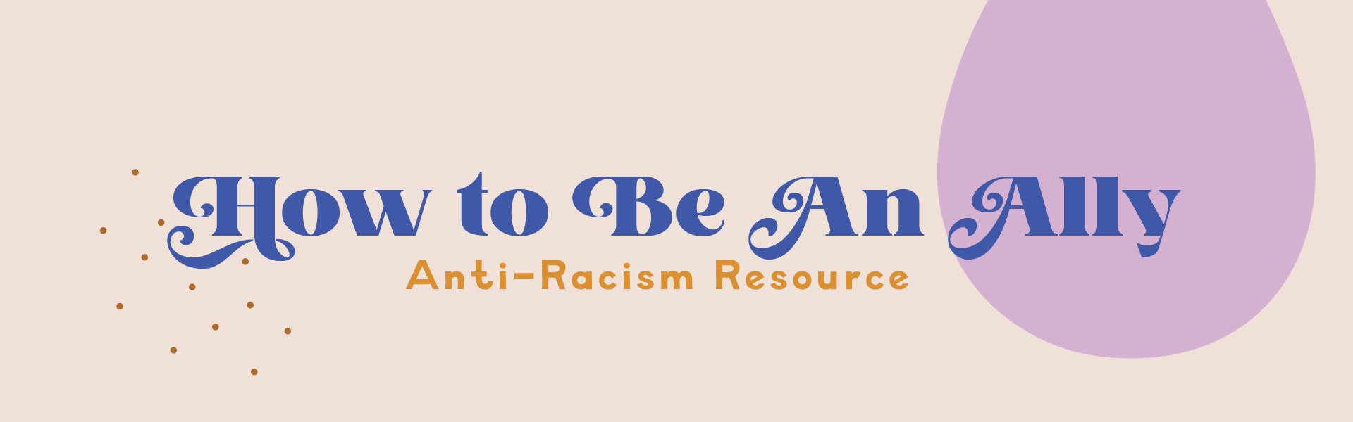How to be an Ally to anti-racism