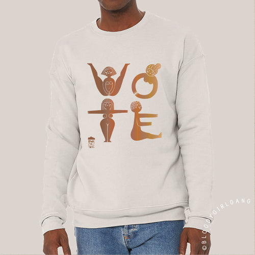 VOTE Sweatshirt: Intersectional Edition