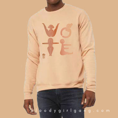 VOTE Sweatshirt: Intersectional Edition (SOLDOUT)