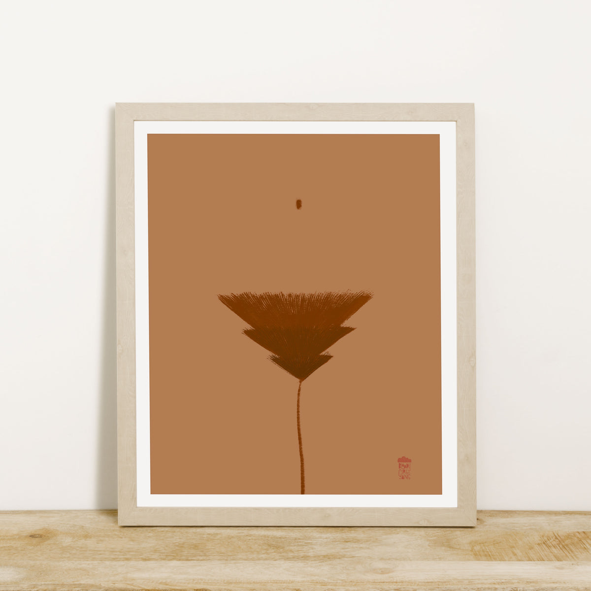 Au Naturel Art Print