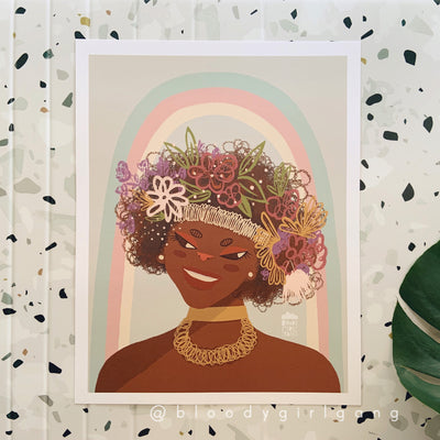 Marsha P Johnson Print