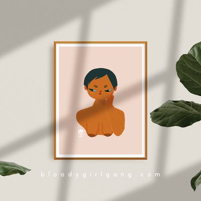 ZFG Motherhood Art Print