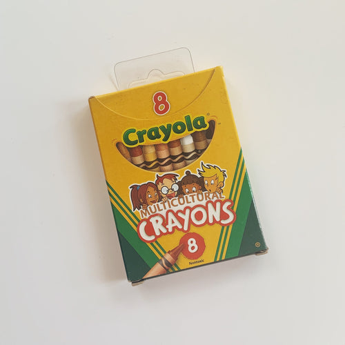 FREE Multicultural Crayons