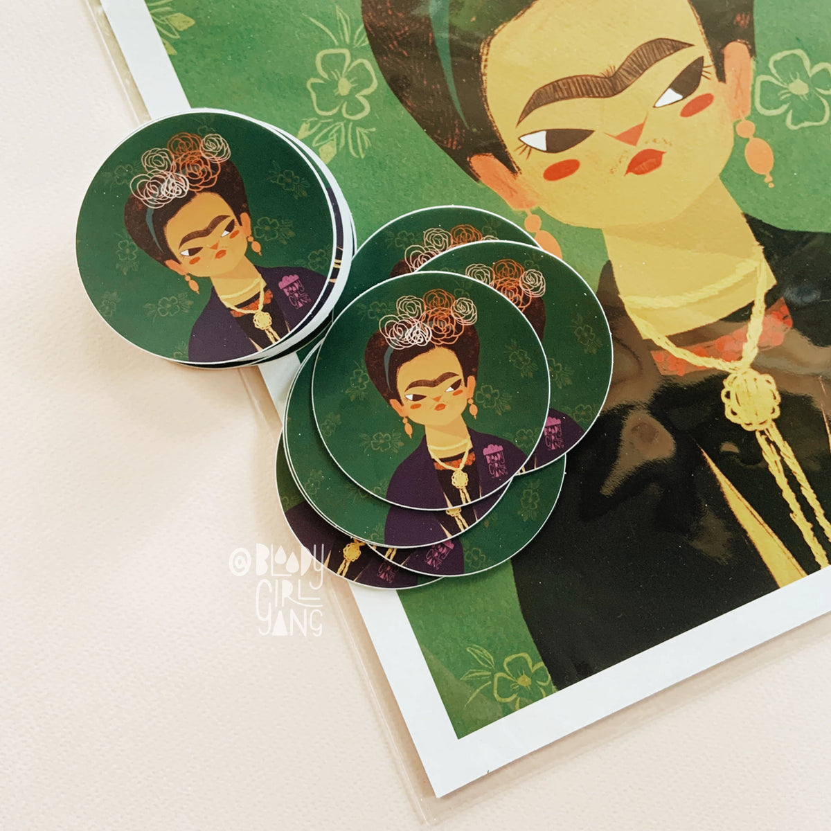 Frida Katlo - BGG Womxn Artist Series Sticker
